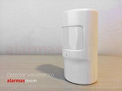 Detector de movimiento alarma Inalambrico EV1527 Bateria Interna G90 PIR8. Sensor infrarrojo detección intrusos interior de casa, oficina, hogares.