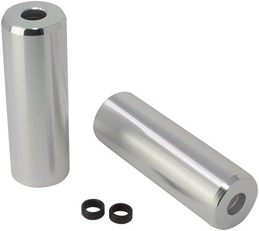 Alloy Pegs T//Less Fits 3//8 or 14mm W=1 1//2 L=4 1//2 Black.