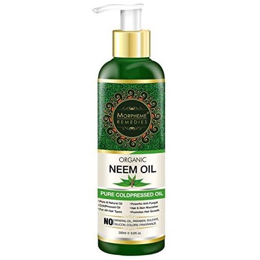 Morpheme Pure Organic Neem Oil Coldpressed Undiluted 200Ml