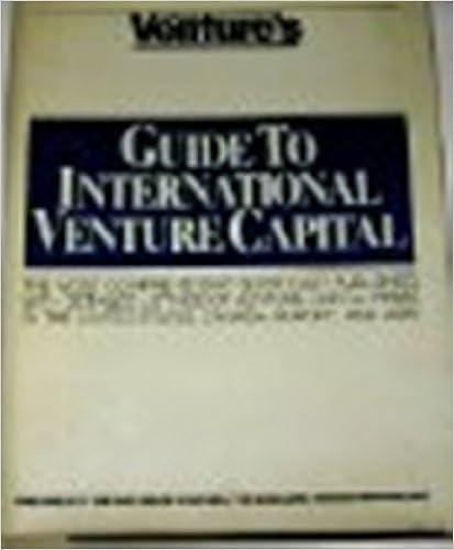 Ventures Guide to International Venture Capital