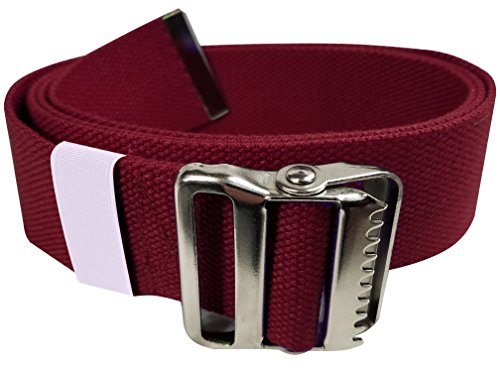 "UPC 083351999742, LiftAid Walking Gait Belt and Patient Transfer with Metal Buckle and Belt Loop Holder for Nurse, Caregiver, Physical Therapist (Burgundy, 60"")"