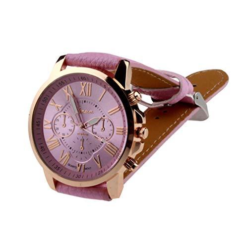 LUCA Women's Watch Fashion Quartz Analog Leather Strap Wrist Watches for Lady Girl