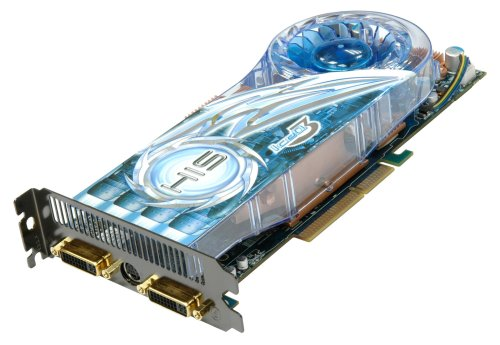 HIS H385Q512ANP Radeon HD 3850 IceQ 3 Turbo HDMI Dual DL-DVI (HDCP) 512MB (256bit) GDDR3 AGP Video Card Retail (RoHS) (Agp Graphics Card Hdmi)