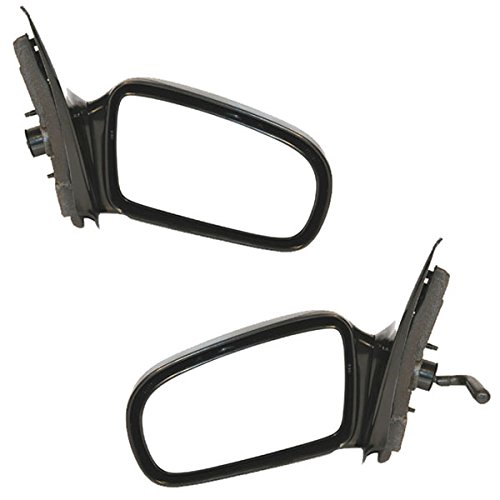 - Koolzap For 95-05 Chevy Cavalier Coupe Manual Rear View Door Mirror Left Right Side SET PAIR