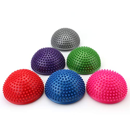 Fasmov Balance Pods Balancing Hedgehog Stability Balance Trainer Dots, Set of 6