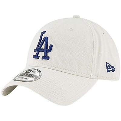 New Era Los Angeles Dodgers White Core Classic Twill 9TWENTY Adjustable Hat/Cap by New Era