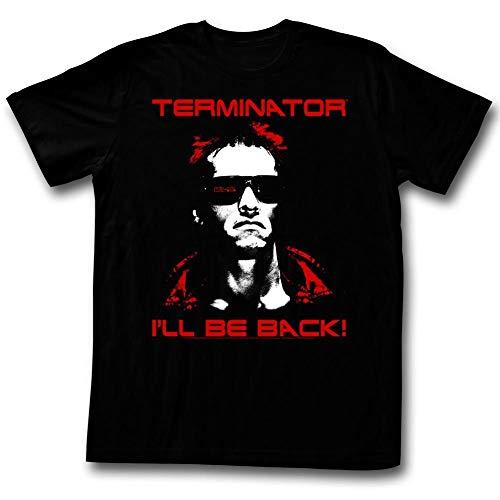 American Classics Terminator Movies Same Ol' T Adult Short Sleeve T Shirt XL Black