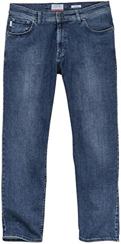 XXL Pionier dżinsy stretch grafitowy niebieski Used Marc: Odzież