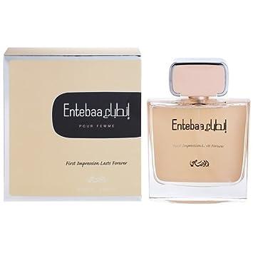 Amazoncom Rasasi Entebaa Pour Femme Eau De Parfum For Women 34