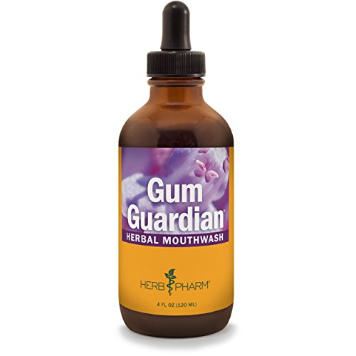- Herb Pharm Gum Guardian Herbal Mouthwash for Healthy Mouth and Gums - 4 Ounce