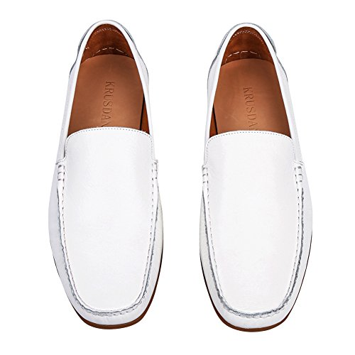 Tortor 1Bacha Adult Men & Women Leather Casual Driving Flat Moccasins Loafer Shoes PTXNf