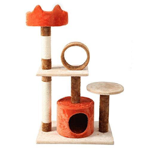 finnkare-40h-cat-tree-sisal-scratcher-play-house-condo-furniture-beige