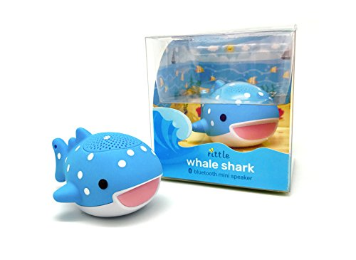 Rittle Whale Shark Cute Mini Bluetooth Animal Wireless Speaker - 3W audio driver Powerful Sound - with Sling for iPhone iPad Android and More by Rittle