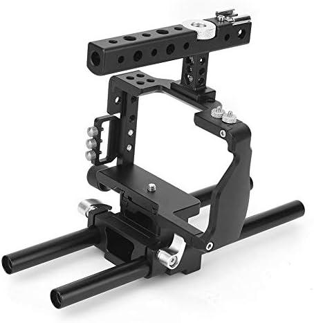 軽量 カメラスタビライザーケージキット トップハンドル付き カメラケージ C6ケージキット映画制作カメラビデオケージセット ソニ