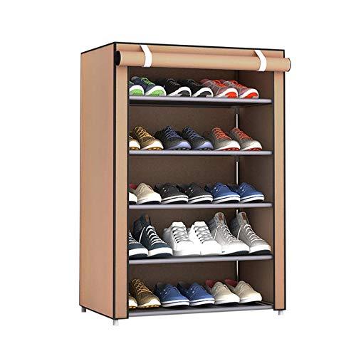 CamKpell Les Chaussures en Tissu Non-tiss/é de Grande Taille antipoussi/ère Chaussures organisent des Chaussures Organisateur /à la Maison dortoir Chaussure Rack /étag/ère Armoire