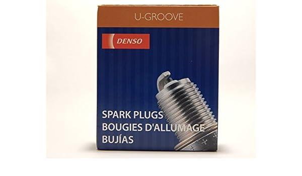 Amazon.com: 4 PCS *NEW* -- DENSO #3293 -- U-GROOVE - Standard Spark Plugs -- K16PR-P11: Automotive