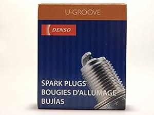 4 pcs * Nuevo * - -denso # 3191 - -U-groove - estándar Bujías - -k16pr-u: Amazon.es: Coche y moto