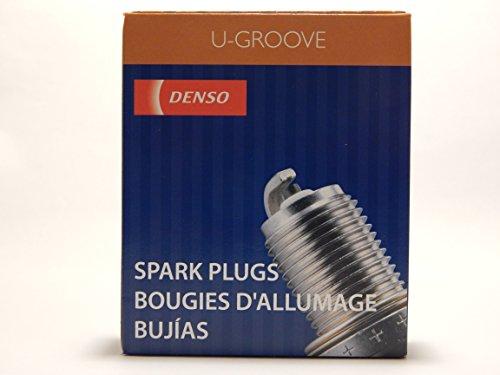 4 PCS *NEW* -- DENSO #3132 -- U-GROOVE - Standard Spark Plugs -- KJ16CR-L11