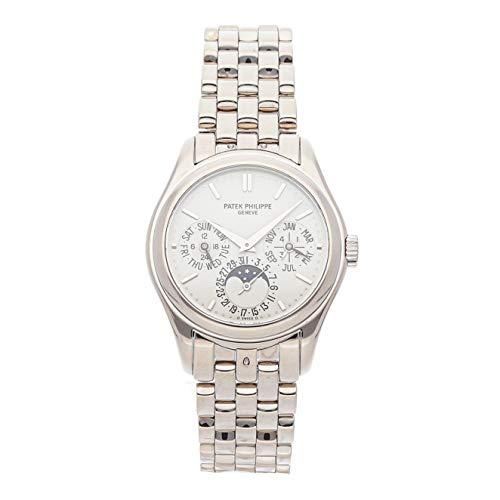 Patek Philippe Grand Complications Mechanical (Automatic) Silver Dial Mens Watch 5136/1G-001 (Certified Pre-Owned) ()