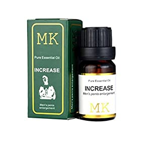 Men's Massage Maintenance Essential Oil Penis Enlargement Cream Male Enhancement MK Increase Erection (Brown)