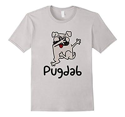Pug Dog Dabbing Funny T-Shirt Pugdab