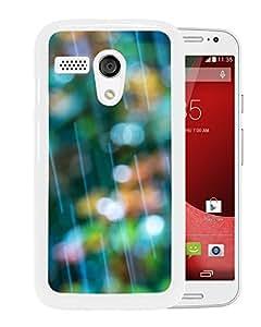 New Beautiful Custom Designed Cover Case For Motorola Moto G With Rain Bokeh (2) Phone Case