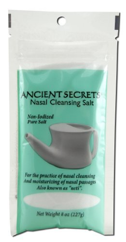 l Cleansing Salt Bag 8 Oz by Ancient Secrets ()