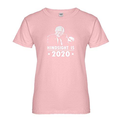Hindsight Costume (Womens Hindsight 2020 Bernie XX-Large Light Pink T-Shirt)