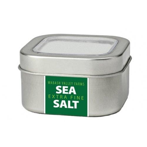 Wabash Valley Farms 41085 Extra Fine Sea Salt In Metal Tin