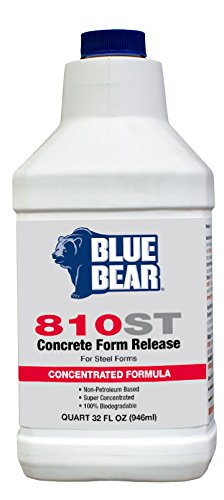 BLUE BEAR 810ST Form Release for Steel 1 Quart