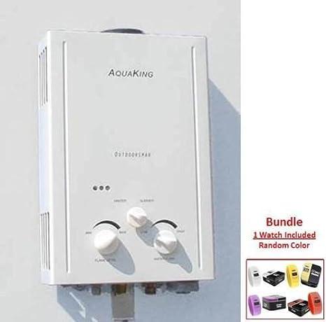Amazon.com: aquaking L6 portátil calentador de agua sin ...