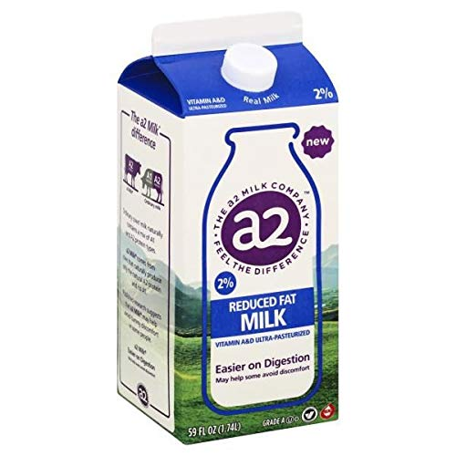 A2 MILK 2% REDUCED FAT 59 OZ PACK OF 2