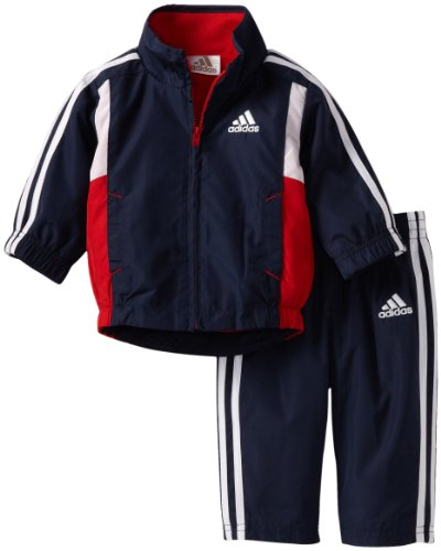 adidas Baby-Boys Infant ITB In Flight Wind Jacket and Pant