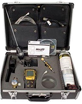 BW Technologies XTCKCC by Honeywell Confined Space Kit Carrying Case with Foam Insert for Use with GasAlertMax XT II Multi-Gas Detector, English, 15.34 fl. oz, Plastic, 1 x 1 x 1 (Confined Space Gas Detector)