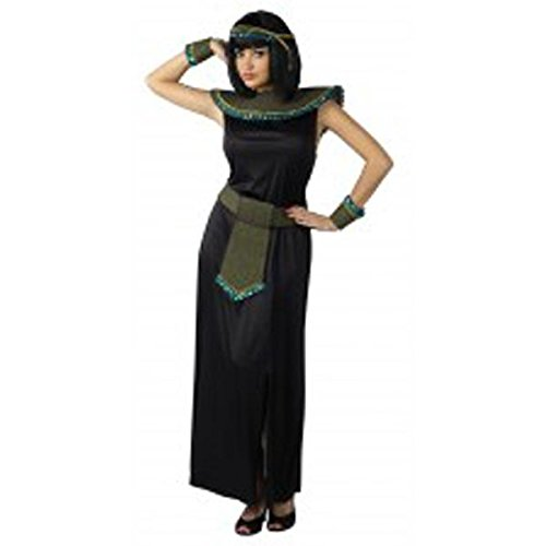 Black/Gold Cleopatra Adult Costume ()