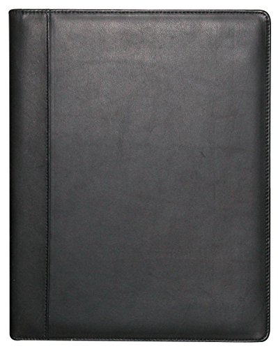 Buxton Men's Leather Writing Pad, Black, One Size ()