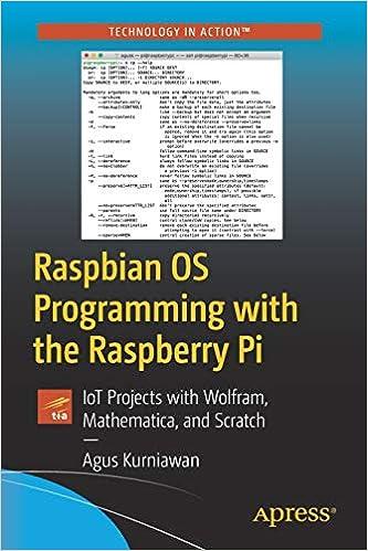 Amazon com: Raspbian OS Programming with the Raspberry Pi