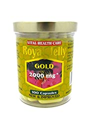 New Improved Super Extra Gold Royal Jelly 100 Capsules