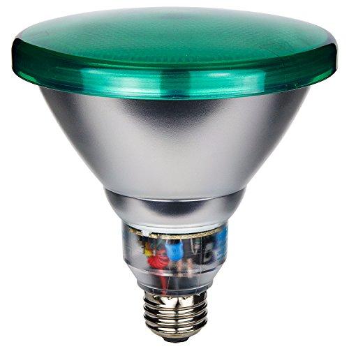 Sunlite SL23PAR38/G 23 Watt PAR38 Energy Saving CFL Light Bulb Medium Base, Green ()