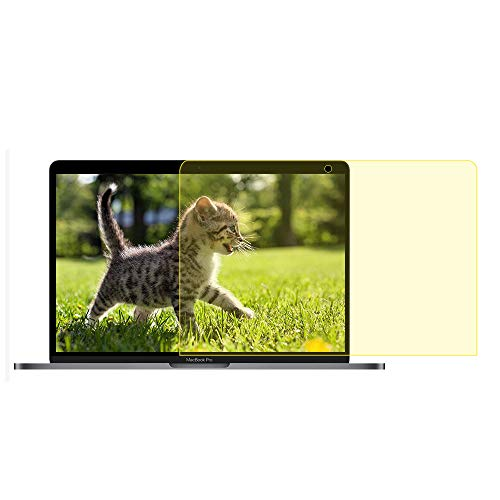 Pavoscreen Blocking Blue Light Screen Protector for MacBook Pro 15'' Touch Bar (A1707) Mid 2017/2018 Model,Protect Eyes Bubble Free Full Coverage MacBook Pro 15'' Screen Filter by Pavoscreen (Image #6)