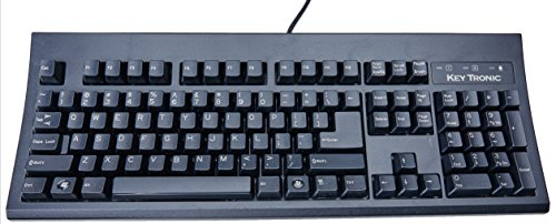PS2 Cable Keyboard in Black - Usb E03601u2m