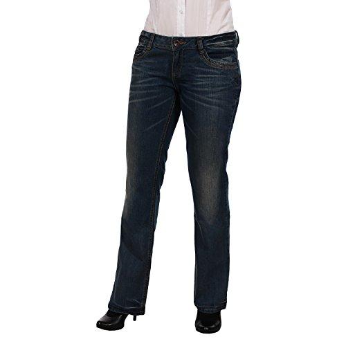 Tom Tailor vaquero para mujer 6017053.00.12 Corte de bota comfort 101 horas
