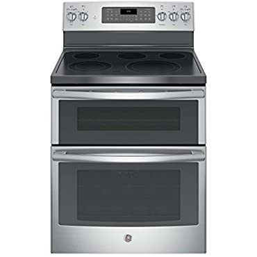 GE JB860SJSS 30 Stainless Steel Electric Smoothtop Double Oven Range Convection