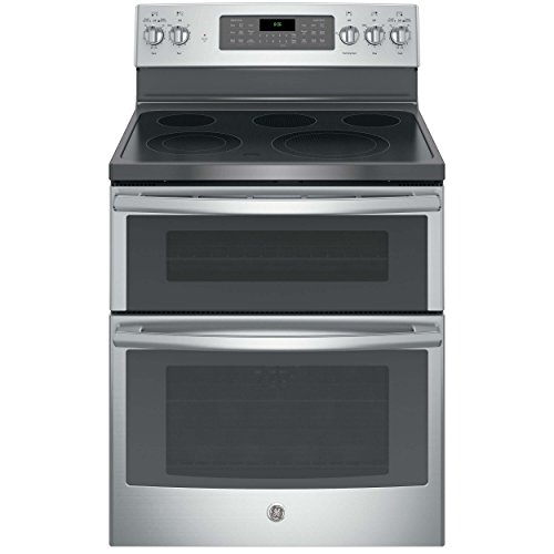 GE JB860SJSS Electric Smoothtop Double Oven Range (Best Electric Double Oven)