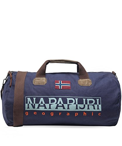 Napapijri Bering Duffle Bag One Size Blue Marine by Napapijri