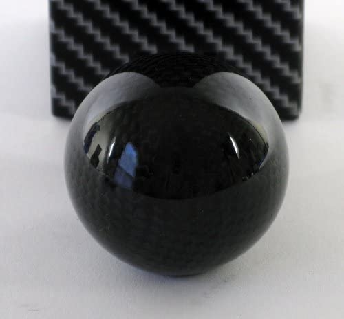 American Shifter 94449 Red Shift Knob with M16 x 1.5 Insert Yellow Ball 11