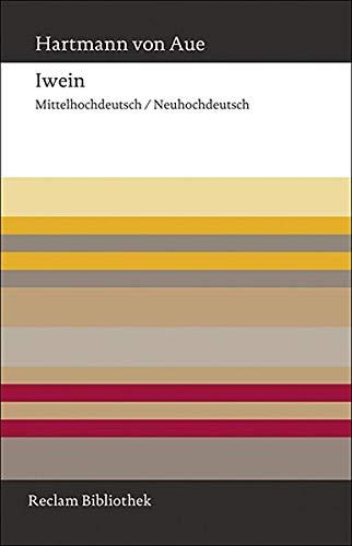Iwein  Mittelhochdeutsch Neuhochdeutsch  Reclam Bibliothek