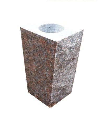 Dakota Mahogany Granite (Granite Vase Tapered 5