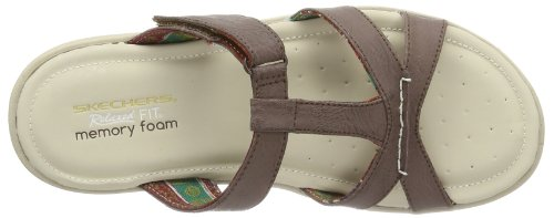 Skechers - Pillow Tops, Sabot Donna Marrone (Braun (BRN))