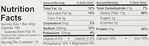 Quest Bar Chocolate Chip Cookie Dough, 25.4 oz (720g) -4 Boxes- Low Carb Protein Weight Loss Muscle Building (48 Bars)